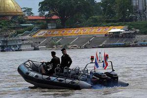 Trung Quốc, Lào, Myanmar và Thái Lan bắt đầu cuộc tuần tra chung trên sông Mekong