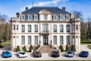 Ngắm 6 siêu xe đắt nhất của Bugatti vừa lần đầu hội ngộ