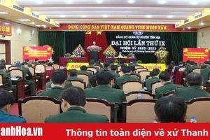 Đại hội Đảng bộ Quân sự huyện Tĩnh Gia lần thứ IX