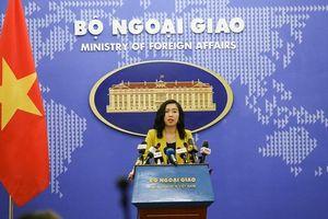 Việt Nam lên tiếng về báo cáo nhân quyền của Mỹ