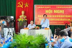 Thừa Thiên Huế bàn giao 2 thôn ở xã Hồng Thủy cho tỉnh Quảng Trị quản lý