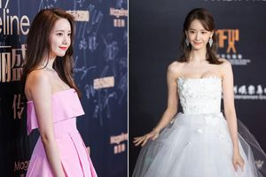 9 lần Yoona mặc váy hở vai khoe dáng gợi cảm tại sự kiện