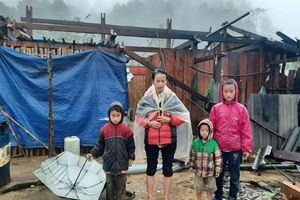 Mưa to gây nhiều thiệt hại tại các tỉnh Tây Bắc