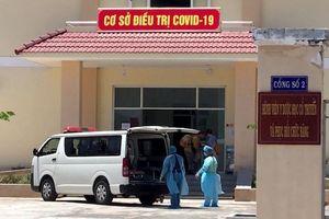 Bình Thuận tiếp nhận và cách ly ba du khách nghi nhiễm Covid-19