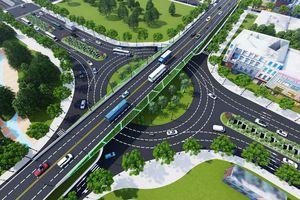 Từ 29-3, phân luồng giao thông để xây dựng nút giao thông phía Tây cầu Trần Thị Lý