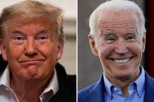 Bầu cử Mỹ 2020: Ứng cử viên Joe Biden vượt Tổng thống Trump trong cuộc thăm dò toàn quốc