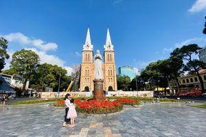 Nhà thờ ở TPHCM ngưng tổ chức thánh lễ trong mùa dịch COVID-19