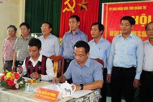Thừa Thiên Huế bàn giao cho Quảng Trị một số khu vực ở Huyện A Lưới