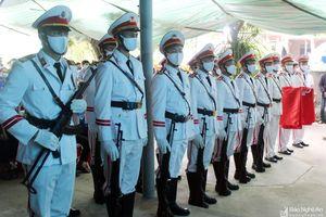 Chủ tịch nước truy tặng Huân chương Dũng cảm cho Đại úy Sầm Quốc Nghĩa