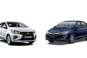 Chênh 110 triệu đồng, chọn Mitsubishi Attrage CVT hay Honda City TOP?