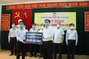 MTTQ tỉnh Tuyên Quang phát động ủng hộ phòng, chống dịch Covid-19