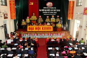 Đại hội đại biểu Đảng bộ xã Trường Yên, nhiệm kỳ 2020-2025