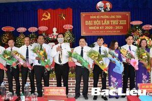 Đại hội Đảng bộ phường Láng Tròn (Giá Rai, Bạc Liêu) lần thứ XIII, nhiệm kỳ 2020-2025: Bầu trực tiếp Bí thư Đảng ủy