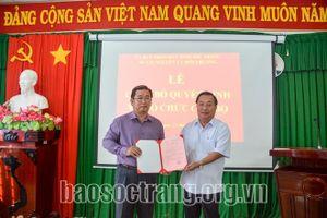 Tin bổ nhiệm nhân sự mới tại Sóc Trăng, Ninh Thuận