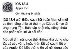 Apple tung bản iOS 13.4 'vá' các lỗi nghiêm trọng trên iPhone