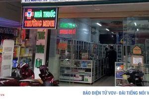 Thị trường Lào Cai khan hiếm khẩu trang y tế chống dịch