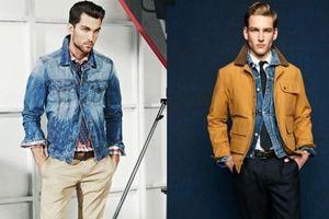 9 cách mặc đẹp áo khoác denim dành cho nam giới