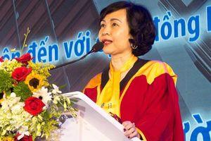GS Mai Hồng Quỳ thôi làm hiệu trưởng ĐH Hoa Sen