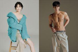 Kwon Nara, Ahn Bo Hyun khoe thân hình đáng mơ ước trên tạp chí