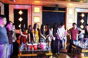 Hà Tĩnh: Phát hiện 76 đối tượng mở tiệc sinh nhật bằng ma túy trong quán karaoke