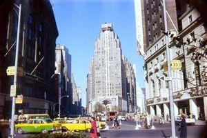 Loạt ảnh gây choáng ngợp về thành phố New York 70 năm trước
