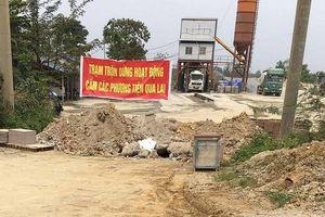 Công ty bê tông Thăng Long sai phạm: 'Chính quyền 'bất lực'