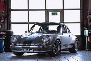 Porsche 911 đời 1985 'biến hình' xe cổ hàng độc 1970