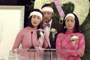 Danh ca Ý Lan đau xót vì đám tang mẹ Thái Thanh vắng lặng