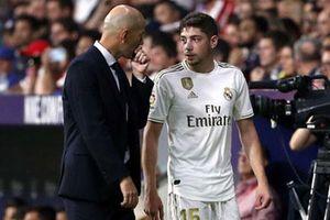 Valverde là 'thần tài' của HLV Zidane