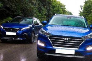 So sánh Peugeot 3008 AT với Hyundai Tucson 1.6 T-GDI