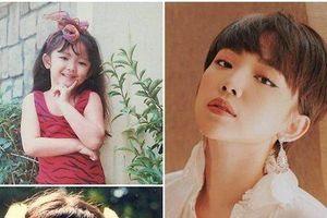 Hé lộ ảnh thời thơ ấu 'chuẩn mỹ nhân' của dàn sao Việt