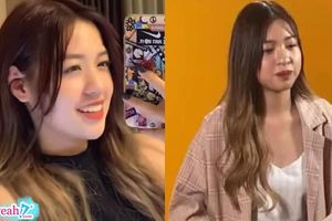 Hot girl 'bắp cần bơ' gây tranh cãi vì lộ hình ảnh gương mặt bầu bĩnh khác xa trên video