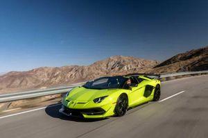 Triệu hồi 26 xe Lamborghini Aventador do lỗi không thể mở cửa