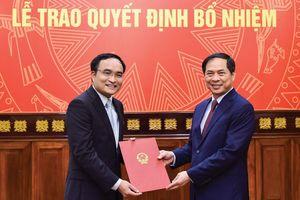 Bổ nhiệm nhân sự Bộ Ngoại giao, Bộ Quốc phòng