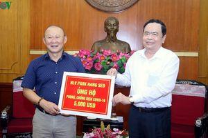 HLV Park Hang Seo: Luôn sẵn sàng giúp Việt Nam vượt qua dịch Covid-19