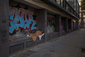 Covid-19: Người vô gia cư vật vờ trên đường phố Tây Ban Nha