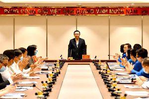 Bí thư Thành ủy Vương Đình Huệ: Thanh niên Thủ đô phải gương mẫu đi đầu