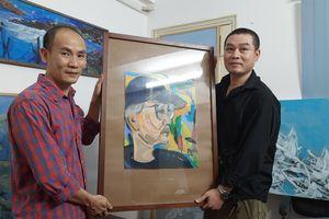 Phút xuất thần của Doãn Hoàng Kiên và bức chân dung danh họa Trần Lưu Hậu