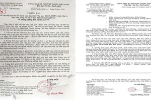 Tiền Giang, Bình Phước tiếp tục cho học sinh nghỉ học đến hết 12/4