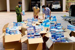 Hà Tĩnh: Thu giữ 50.000 chiếc khẩu trang không rõ nguồn gốc