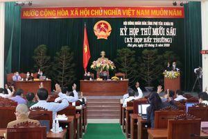 HĐND tỉnh Phú Yên thông qua nhiều nghị quyết phát triển kinh tế-xã hội