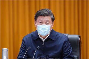Ban lãnh đạo Đảng Cộng sản Trung Quốc đánh giá tình hình dịch bệnh COVID-19