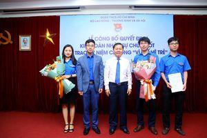 Đoàn TNCS Hồ Chí Minh Bộ LĐ-TBXH có tân Bí thư