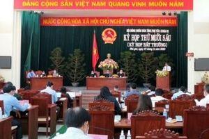 HĐND tỉnh Phú Yên thông qua 20 nghị quyết và bầu bổ sung ủy viên