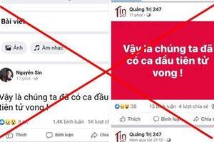 Bộ Y tế: Việt Nam chưa có trường hợp bệnh nhân COVID-19 nào tử vong