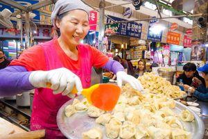 Khu chợ đường phố lâu đời nhất ở Hàn Quốc