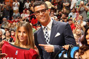 'Cậu bé vàng' của NBA câm nín khi gặp Ronaldo