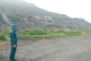 Bảo đảm an toàn cho người dân khu vực sạt lở bãi thải mỏ than Phấn Mễ