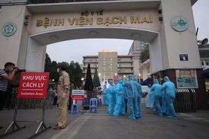 Chủ tịch Hà Nội yêu cầu cách ly tập trung người nhà bệnh nhân Bệnh viện Bạch Mai