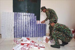 Liên tiếp bắt 4 vụ vận chuyển số lượng lớn thuốc lá ngoại nhập lậu